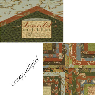 Moda ARNOLD'S ATTIC Fabric by Barbara Brackman