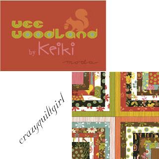 Moda WEE WOODLAND Fabric by Keiki