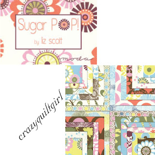 Crazy Quilt Girl Fabric Shop Moda Sugar Pop Fabric By Liz