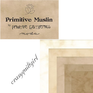 Moda PRIMITIVE MUSLIN Fabric by Primitive Gatherings