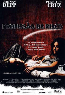 Filme Poster Profissão de Risco DVDRip XviD & RMVB Dublado