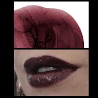 Illamasqua Art Of Darkness winter 2010 Intense Lip gloss Hermetic swatch