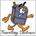 Traveling Suitcase Badge