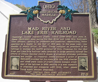 Mad River historical Plaque