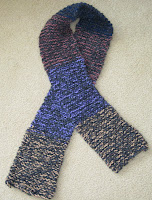 knitted scarf for homeless