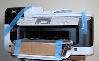 unpacking new printer