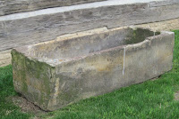 old watering trough