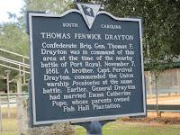 Thomas Fenwick Drayton historical marker