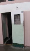solitary cell at Alcatraz