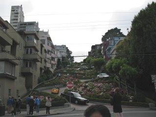 twisty Lombard Street