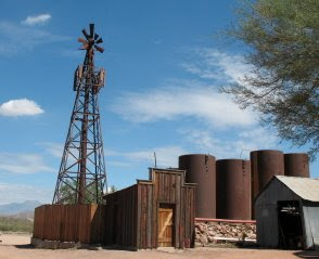 Historic Goldfield Ghost Town