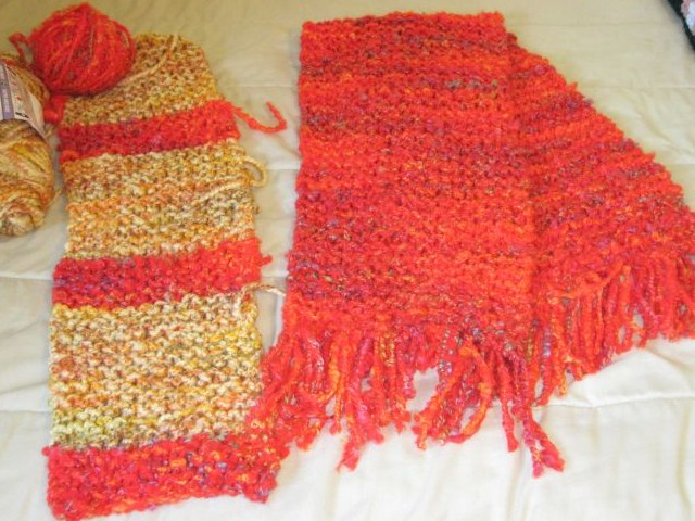 Knitting Scarves For The Homeless : Bridge and beyond knitting scarves for the homeless