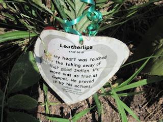 plaque on gravestone