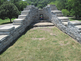 inside Leatherlips Memorial