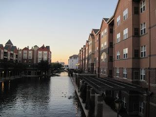 Condo's along canal walk
