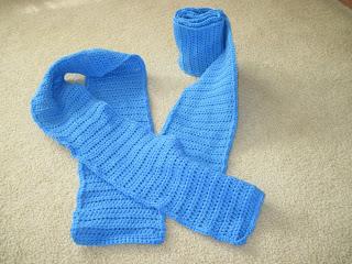 crocheted scarves for homeless