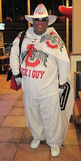 OSU Guy at airport