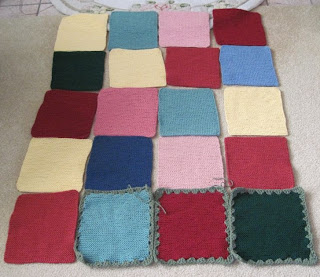 knitted afghan squares for homeless