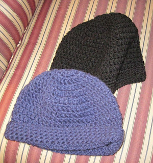 crocheted hats