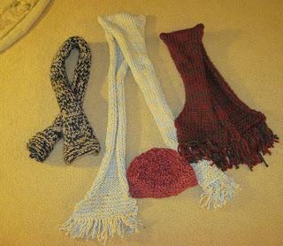 knitted scarves for homeless