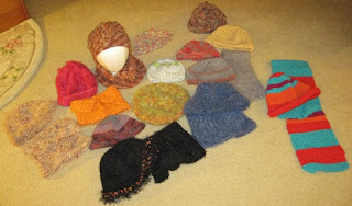 knitted and crocheted donations for homeless