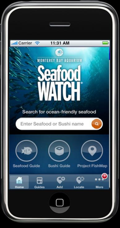 The Culinary Gadabout Seafood Watch On Your Apple Device