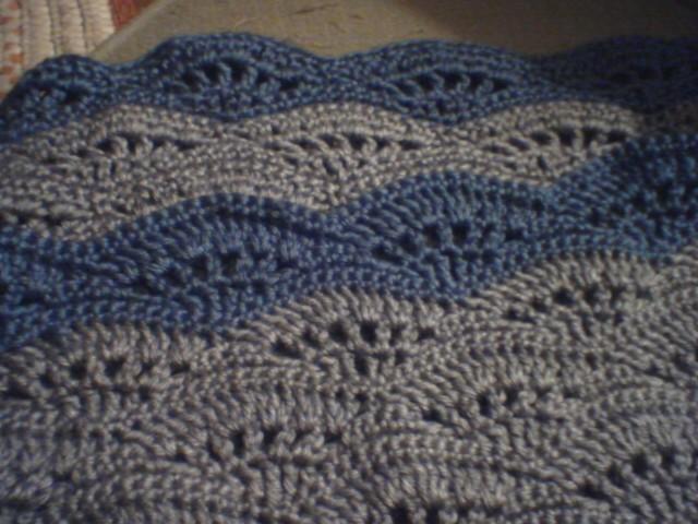 Crochet Ocean Wave : StrungOutDesigns: October 2010