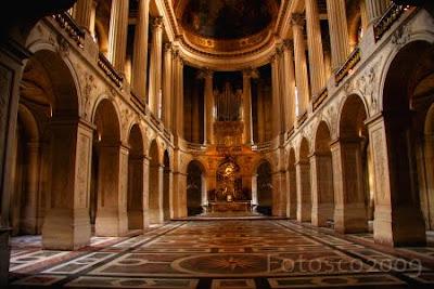 Château de Versailles, la Chapelle royale