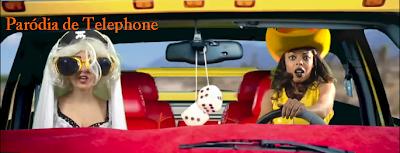 parodia de telephone da lady gaga e beyonce