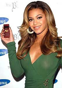 beyonce no telefone