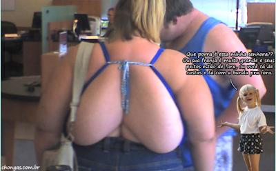 mulher bunda nas costas
