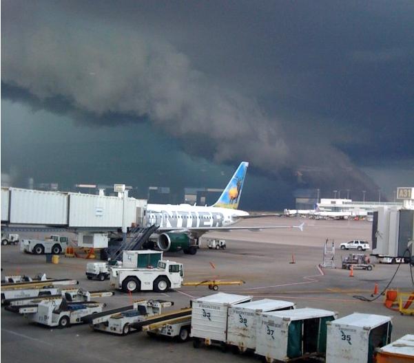Mike Smith Enterprises Blog: Tornado Warning At Denver Airport