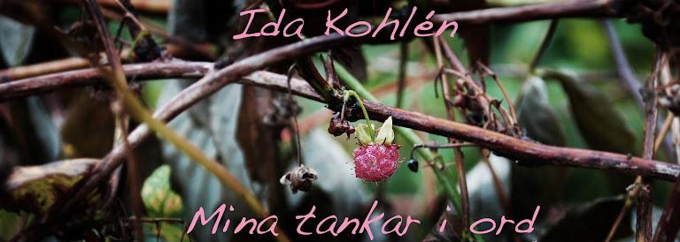 Ida Kohlén - Mina tankar i ord
