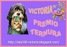Gracias Victoria y Juan Francisco por este premio tan chulo!!