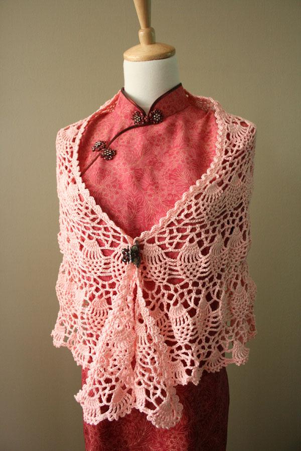 Cotton Crochet Thread Shawl Patterns