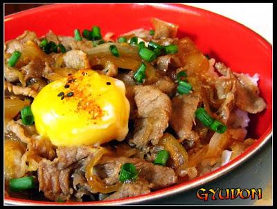 Peter's Pan: Gyudon (Japanese Beef Bowl)