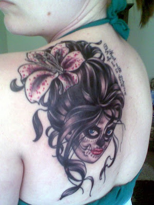 Day of the Dead Stage 2 Tattoo Picture 1