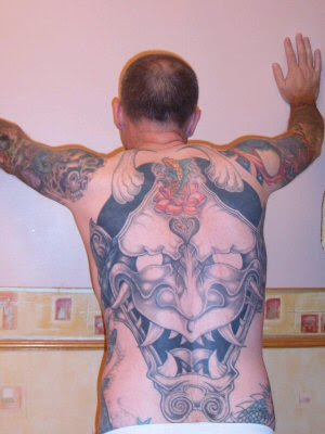 See more Japanese Tattoo Design Below: Hannya Mask Tattoo, Japanese Flower