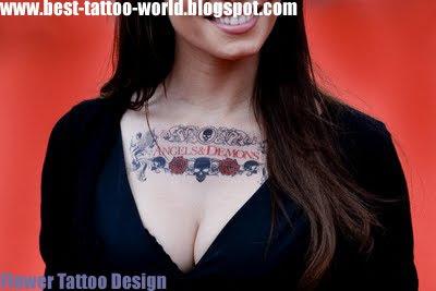 Flower Tattoo  on Flower Tattoo Design