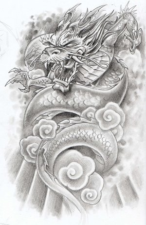 Dragon Tattoo on Japanese Dragon Tattoos Gallery   Free Design Tattoos