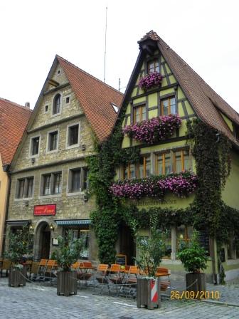 Viaje a  Rotemburgo Ob Der Tauber