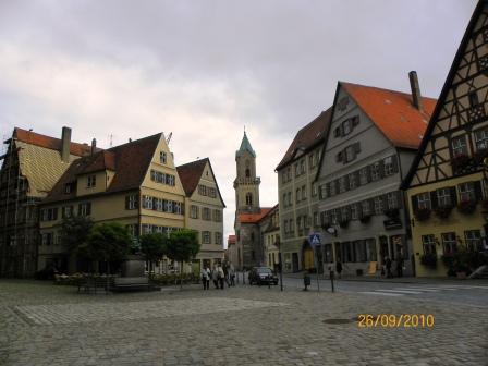 Dinkelsbuhl, una bonita parada en la Ruta Romántica