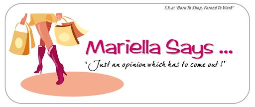 ..::Mariella Says::..