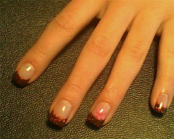 B Dazzled Nail Design*: It\'s A Brown Thing