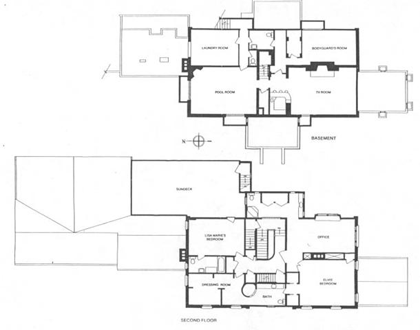 Taking Care Of Business Elvis Blog Graceland Floor Plan