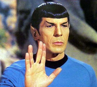 My sad spring break Spock