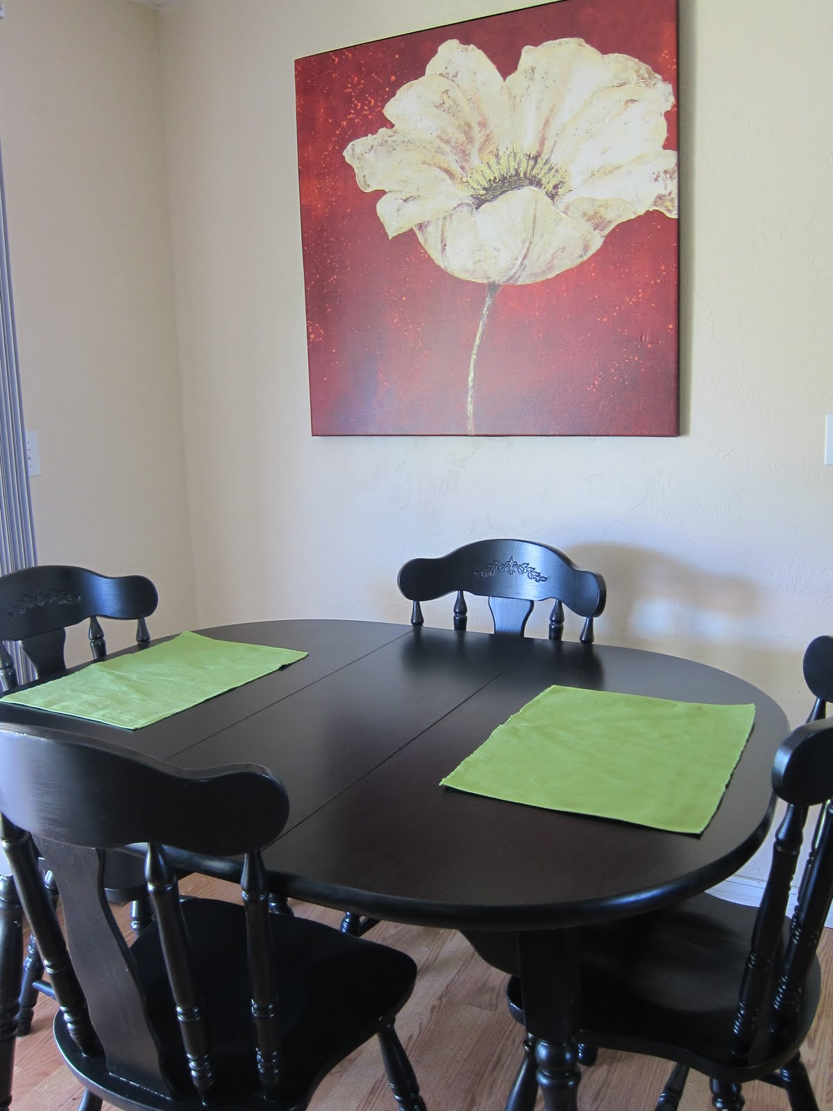 Dorese S Pieces Refinishing Project Kitchen Table And Chairs