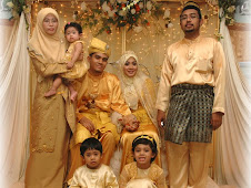 Abang dan famili..