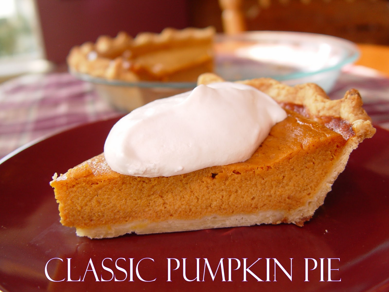 Creamy Pumpkin Pie and Classic Pumpkin Pie