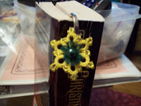 Flower Power Bookmark